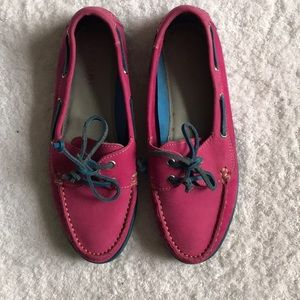 EUC Tesori Boat Shoes